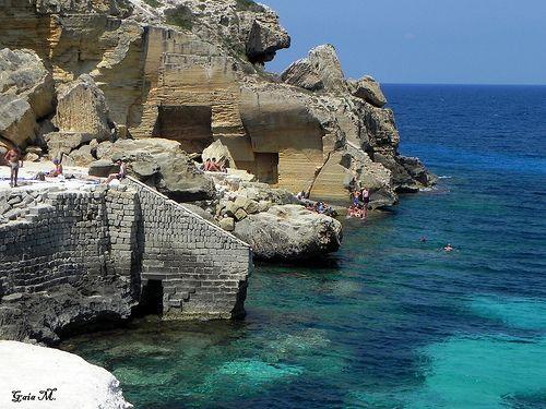 Le cave di tufo - Bue Marino