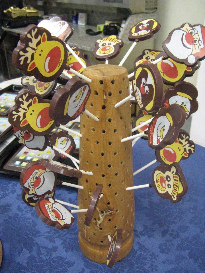 cioccolato su stecco lollipop Omar Busi