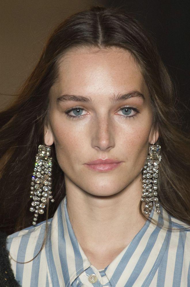 Maxi boucles d'oreilles strass Isabel Marant