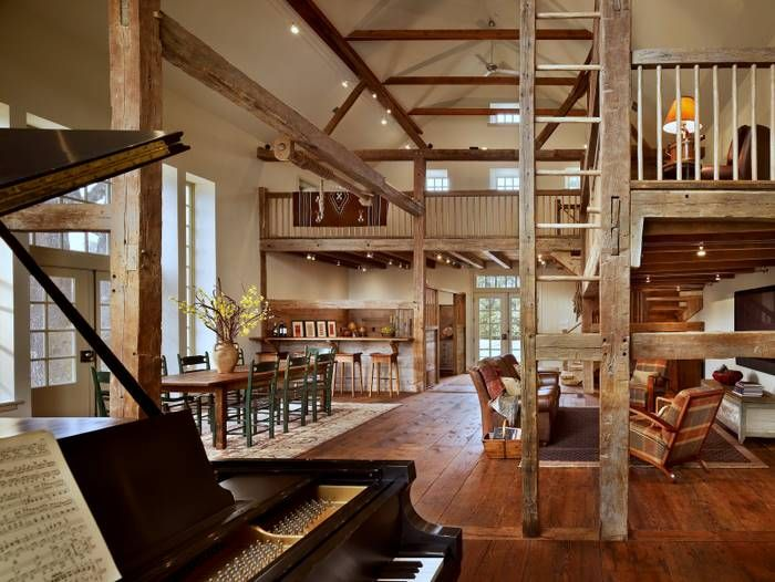 547 best images about barn renovations interior on for Converting a pole barn into living space