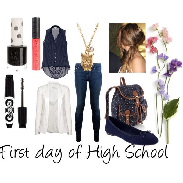 """""""First Day of High School"""" by alicecookiemonster on Polyvore"""