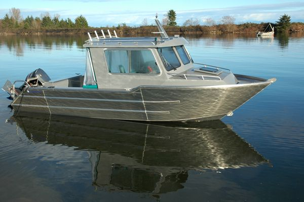 Aluminum Boat - Wolf West Coast Cruiser