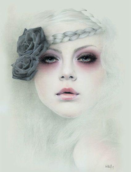 Bec Winnel - Melbourne, Australia Artist - Featured - Illustrators - Painters - Artistaday.com
