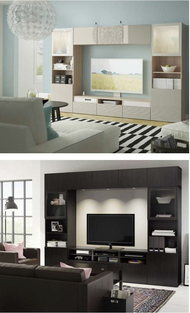 Masculine or feminine, modern or traditional, light or dark, with BESTÄ there is a style to suit everybody's taste.