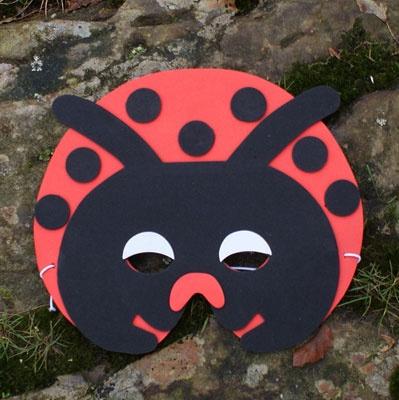 Foam Ladybird Mask