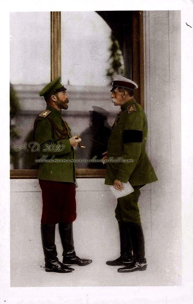 Nicholas and Fredericks by VelkokneznaMaria