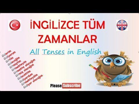 İNGİLİZCE TÜM ZAMANLAR - YouTube