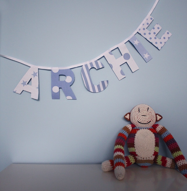 Personalised Bunting £9.00                                                                                                                                                                                 More