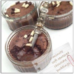 Thermomix chocolate pudding