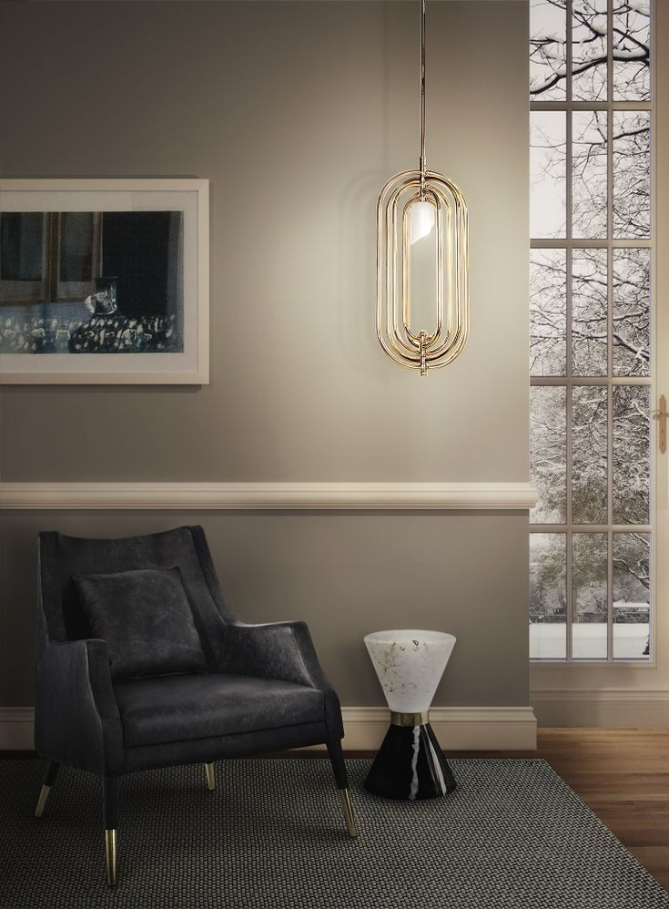 6 Modern Side Chair and Wall Lamp Designs For an Elegant Living Room