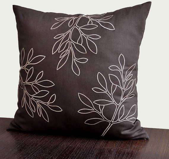 Brown Linen Throw Pillow : Best 25+ Brown pillow covers ideas on Pinterest Brown pillows, Brown couch pillows and Olive ...