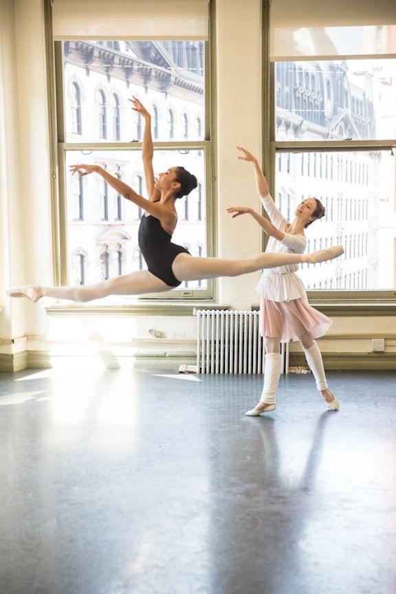 Julie Kent coaching ABT Studio Company dancer Erica Lall.