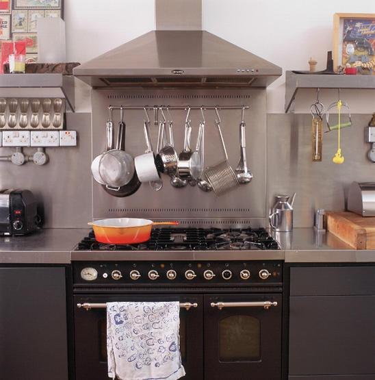 stainless steel kitchen - Stainless Steel Kitchen Cabinets