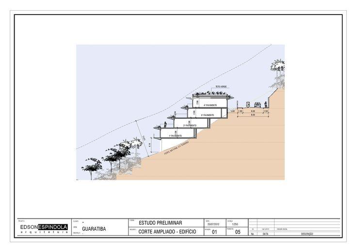 Estudo GUARATIBA - RJ - Corte Módulo Habitacional