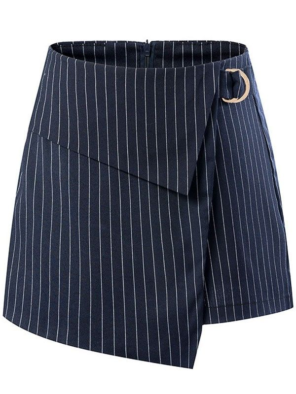 Casual Vertical Stripes Waist Shorts - Pants - Bottoms $19.00.Click for more.