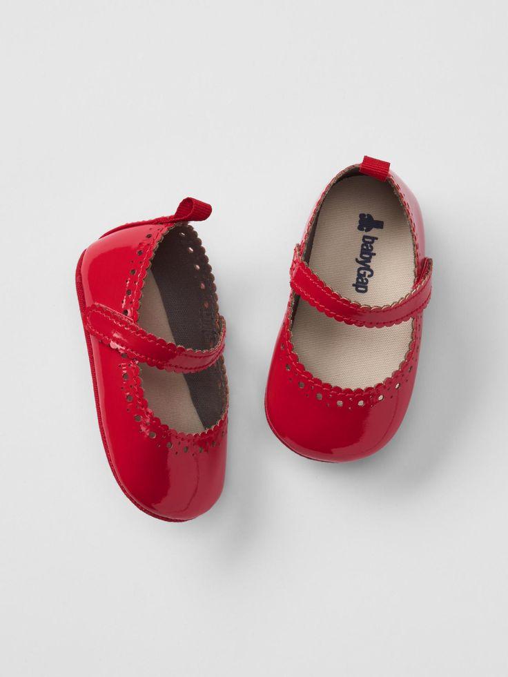 Scalloped Ballet Flats | Baby Gap