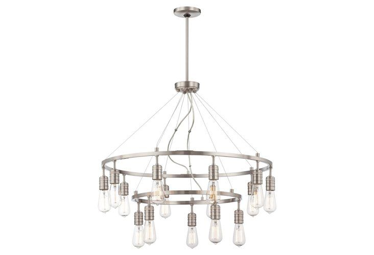 1000  ideas about edison chandelier on pinterest
