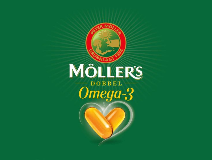 Möllers Dobbel Omega-3 / Orkla Health