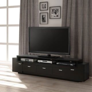 Furniture of America 84-inch Peyton Modern-tiered TV Stand - Free Shipping Today - Overstock.com - 17881594