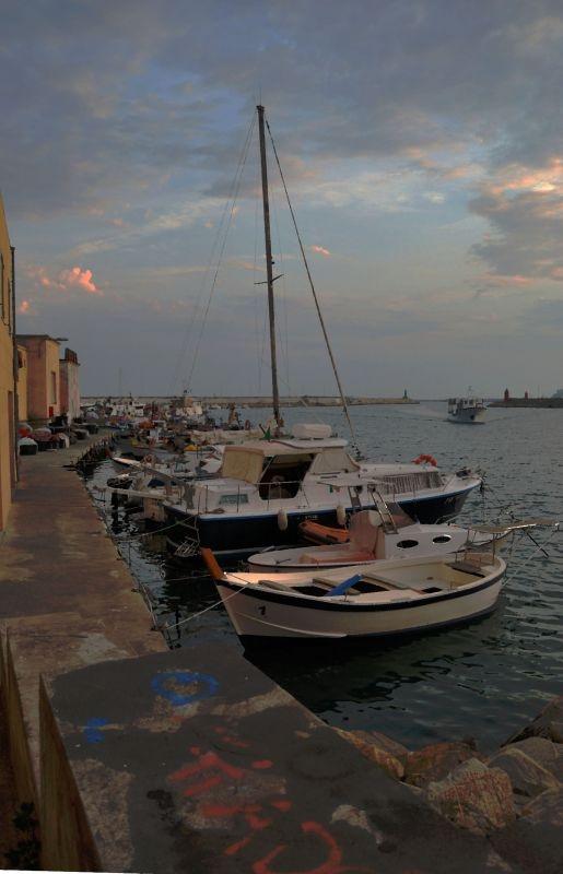 Fishing of Imperia...Oneglia Italy