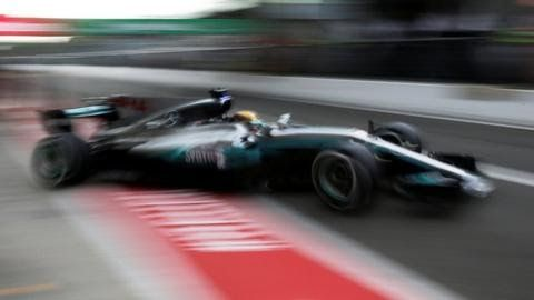 Listen to the Italian Grand Prix across BBC Radio 5 live sports extra the BBC Sport website and mobile app  Lewis Hamilton headed Valtteri Bottas to a Mercedes one-two in first practice at the Italian Grand Prix.  Hamilton  was 0.435 seconds quicker than the Finn - and more than a second in  front of title rival Sebastian Vettel who is seven points ahead after  12 of 20 races. The top eight was completed by Kimi Raikkonen in  fourth followed by Red Bull's Daniel Ricciardo and Max Verstappen…