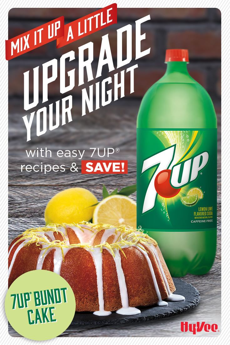 Find more inspiration to mix up your night and save on 7UP. Click through for coupon. Must be 21+ Please drink responsibly. Age Verification Required.
