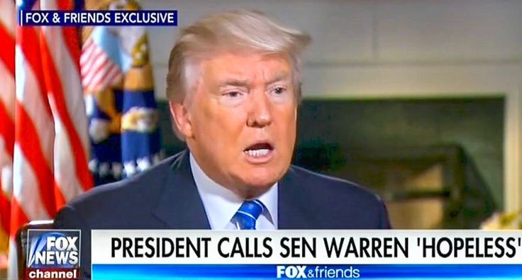 Trump: Calling Elizabeth Warren racist slur 'Pocahontas' is 'an insult to Pocahontas' — but I do it anyway