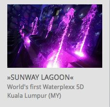 World's first Waterplexx 5D @ Sunway Lagoon Waterpark Malaysia // www.kraftwerk.at