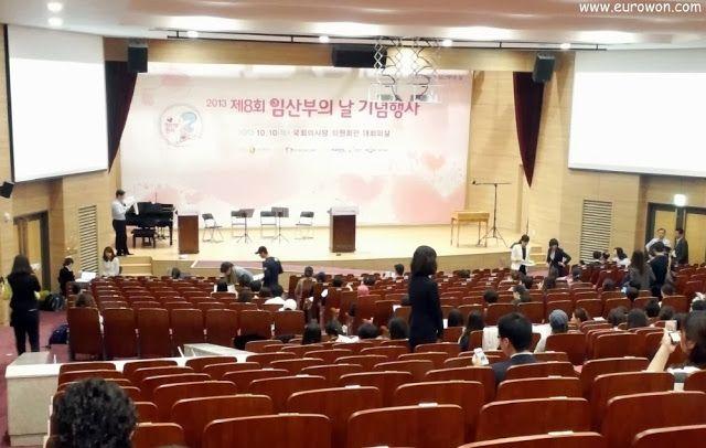Celebración del Día de las Embarazadas en Corea
