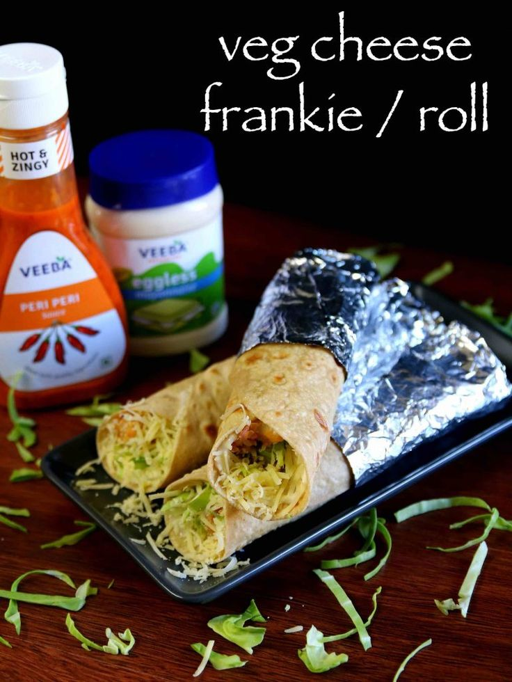 veg frankie roll recipe, veg cheese frankie, veg cheese kathi roll with step by step photo/video. left over chapathi or roti kathi roll or frankie recipe.