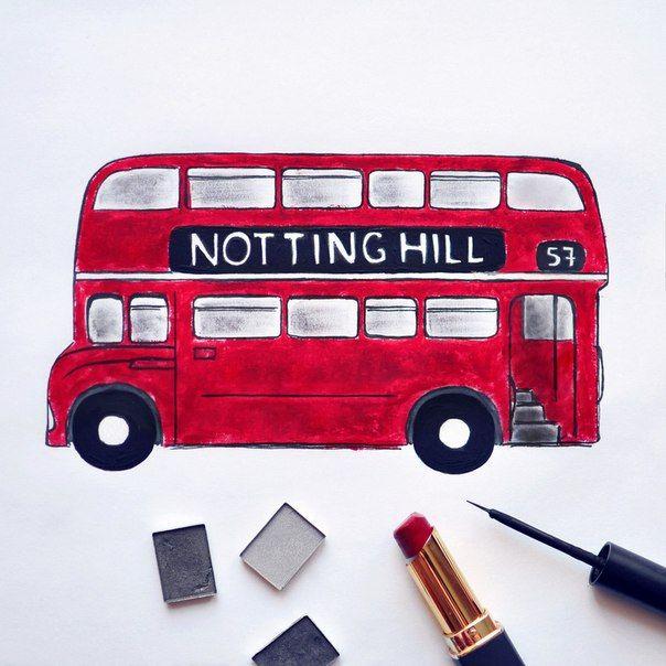 Я уеду жить в лондон. (Makeup Art)