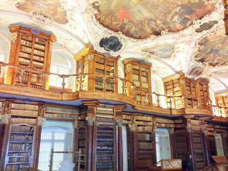 Abbey library of Saint Gall - Switzerland
