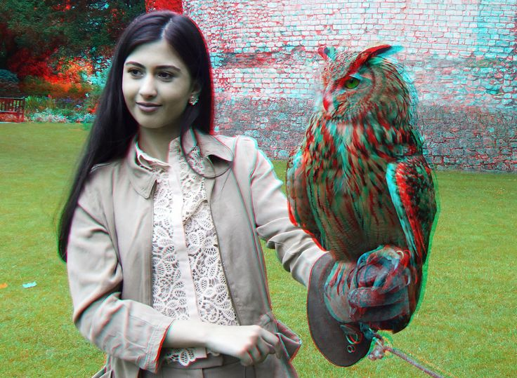 https://flic.kr/p/HLPwhx | Museum-park York 3D | anaglyph stereo red/cyan   TTW version