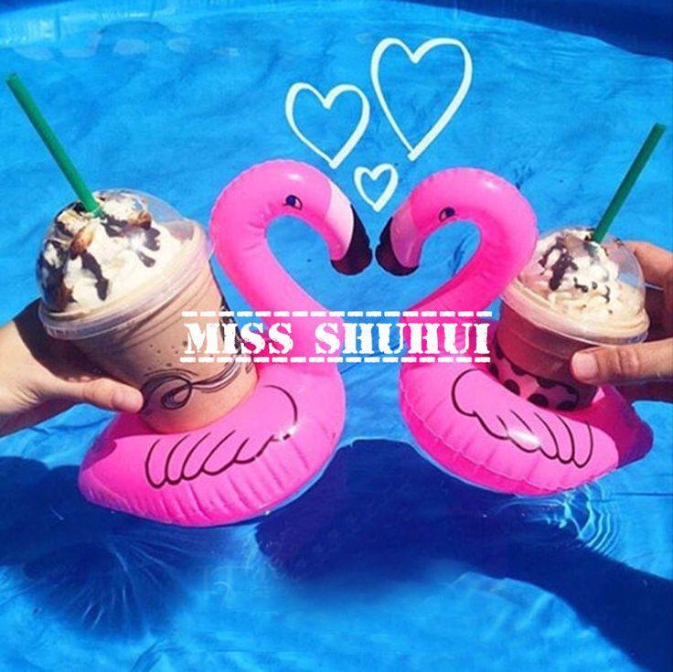 Sewwi Flamingo Floating Drink Holder | YESSTYLE