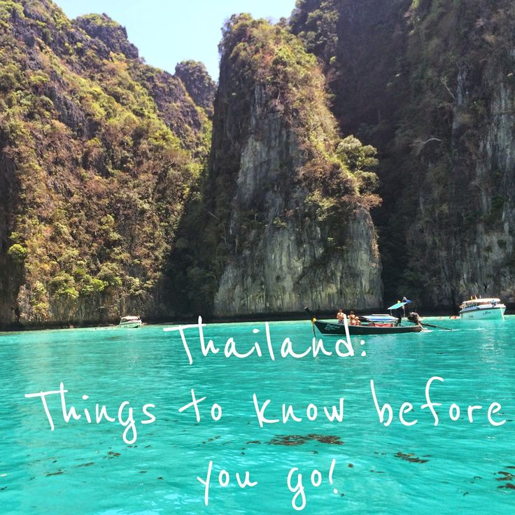 It's time...: Travel Tips for Thailand 20 Things to know about Thailand before you go!