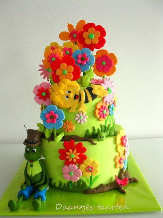 Maya the Bee Birthday Cake..
