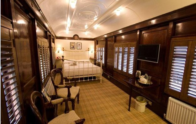 Luxury converted rail escape