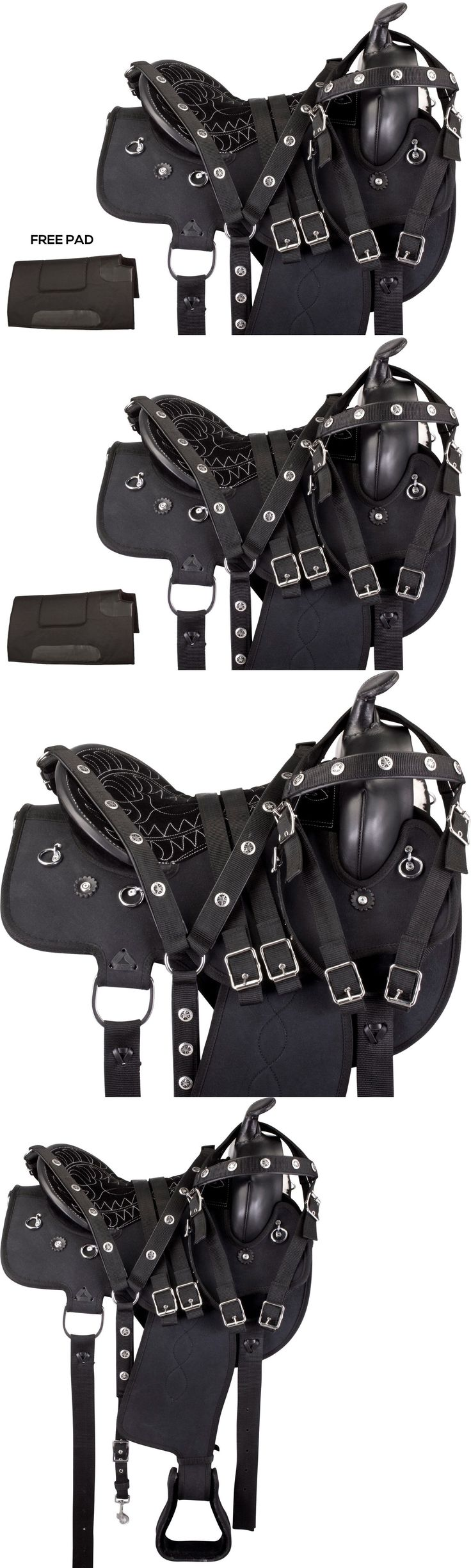 Saddles 47291: 16 17 Light Weight Western Horse Saddle Gaited Pleasure Trail Endurance Tack -> BUY IT NOW ONLY: $189.99 on eBay!