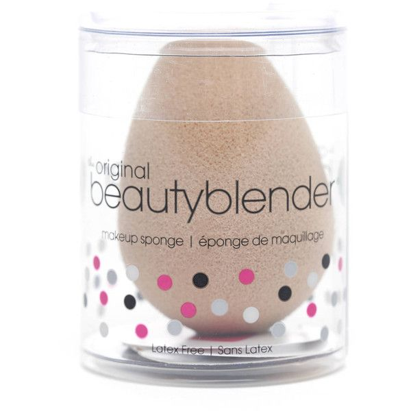 Beauty Blender Single Nude Makeup Sponge (79 RON) ❤ liked on Polyvore featuring beauty products, makeup, makeup tools, none, mineral cosmetics, beautyblender, powder foundation makeup, hypoallergenic cosmetics and mineral makeup