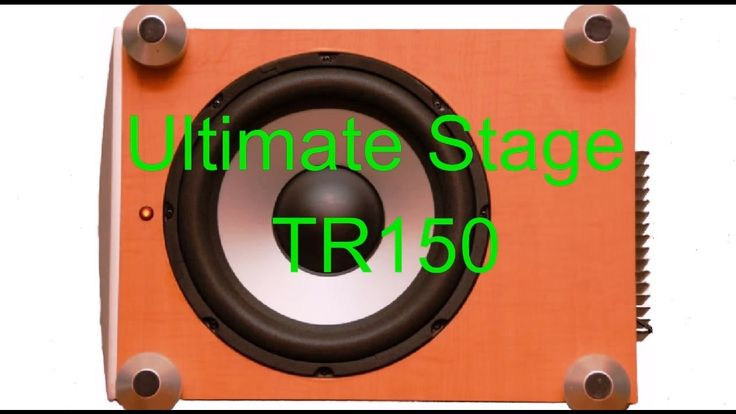 Сабвуфер Ultimate Stage TR150