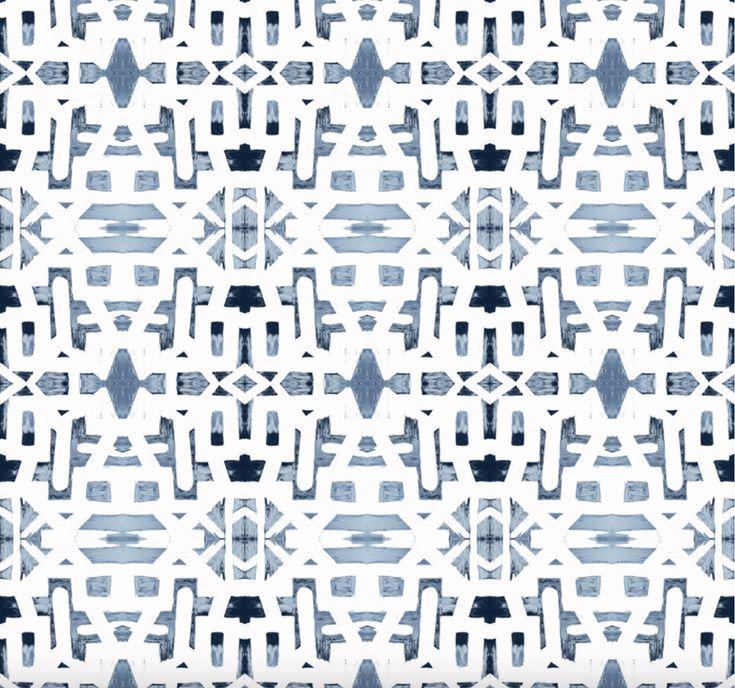 82113 Indigo Ocean Alta Wallcovering Wallpaper, How to