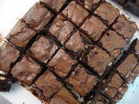 Chocolate fudge brownie   Ingredient 200 gm chocolate 200 gm butter 3 eggs 115 gm plain flour 30 gm Cocoa 220 gm castor sugar 250 gm white chocolate   Set oven to 170…