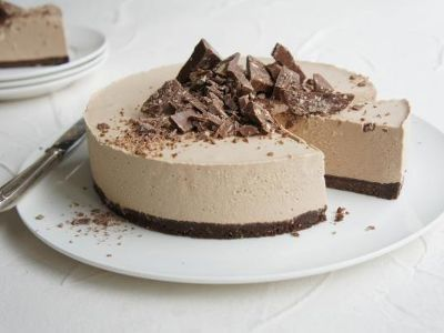 Toblerone Cheesecake Slice