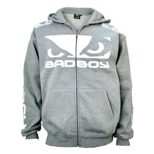 Bad Boy Walk In Zip Sweatshirt (X-Large, Athletic Heather)