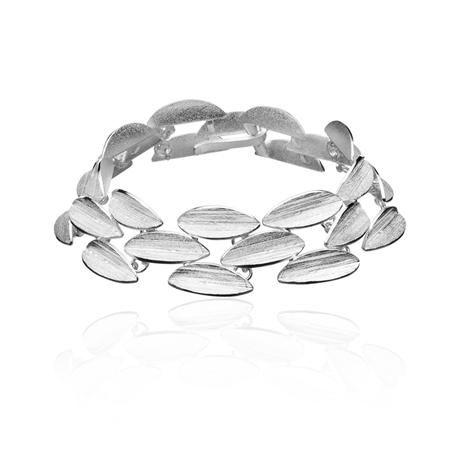 CONES Design: Björn Weckström / Silver Bracelet / Lapponia Jewelry / Handmade in Helsinki