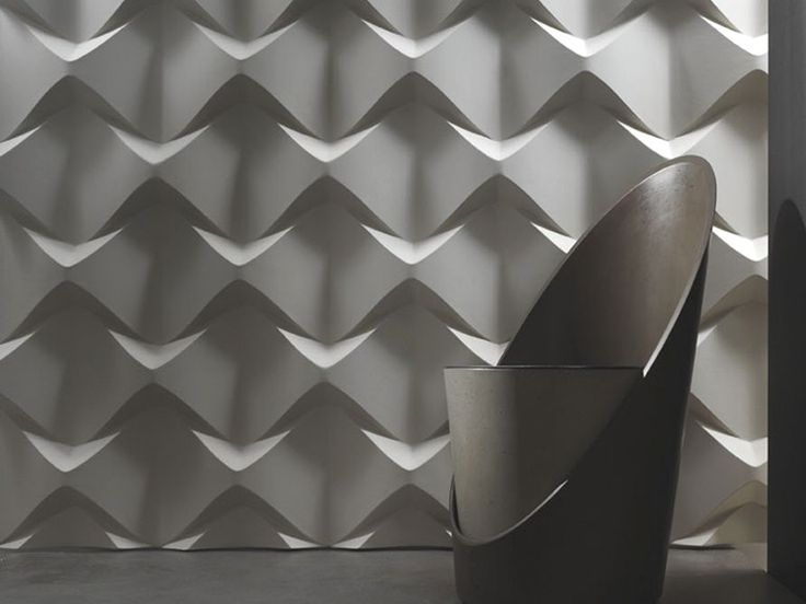 3D Wall Panel CAOS by 3D Surface design Jacopo Cecchi