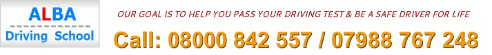 Want to pass your driving test before summer then book your driving lesson with ALBA driving school now.