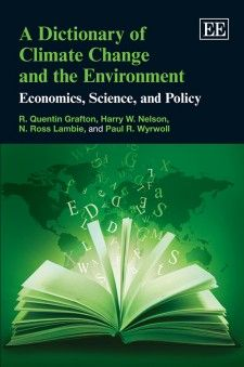 A Dictionary of Climate Change and the Environment Economics, Science, and Policy (EBOOK) FULL TEXT: http://dx.doi.org/10.4337/9781781001165