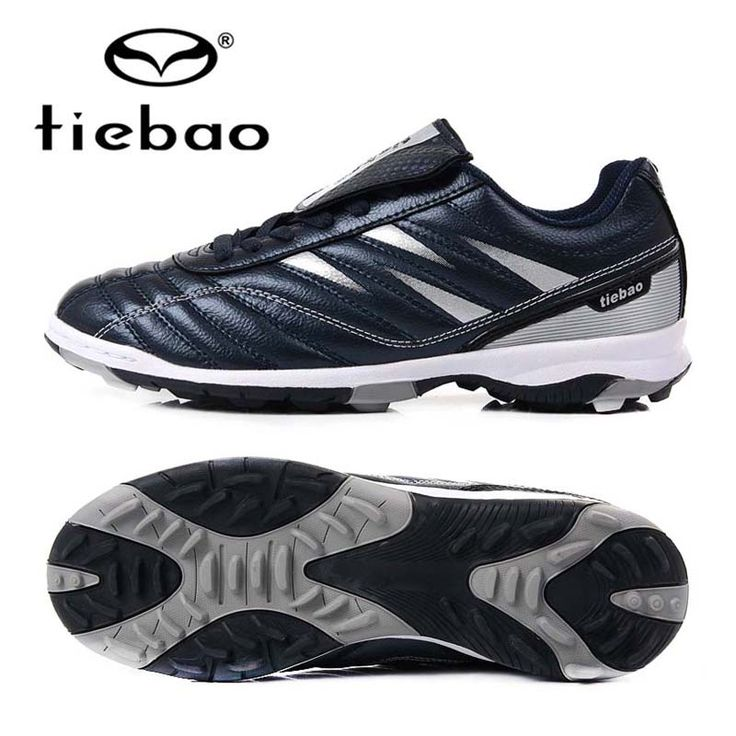 TIEBAO 2017 Professional Boy Soccer Cleats TF Turf Trainers Football Soccer  Shoes Indoor Man Training Sneakers