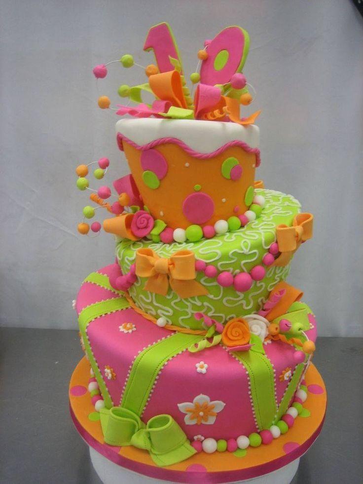 Very nice  cake for girls
